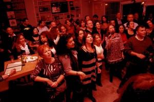 שירה בציבור בצרפתית