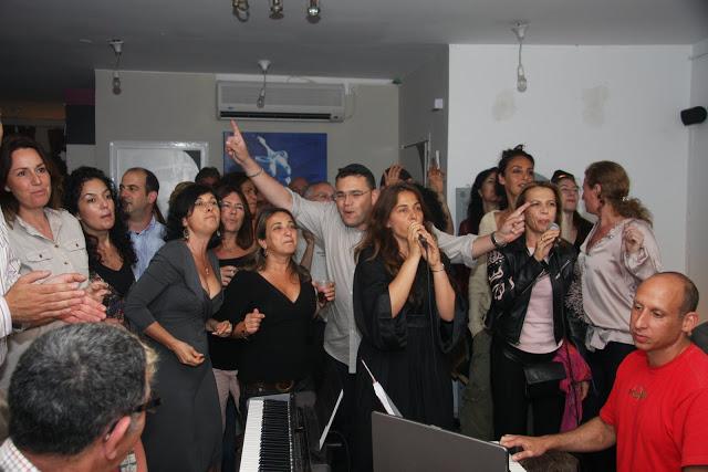 שירה בציבור באירוע פרטי